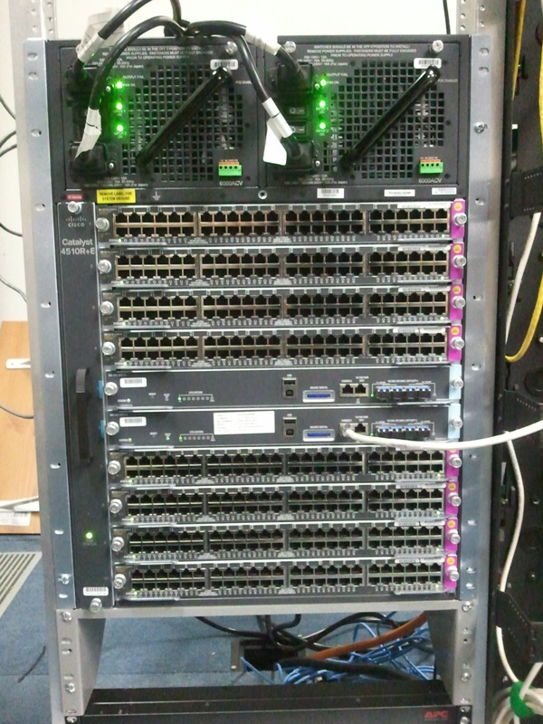 Password Recovery Of A Cisco 4510r E 10 Slot With Two Sup